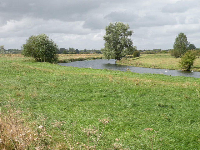 The River Cam below Waterbeach