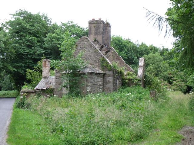Beautiful ruin near Glasserton
