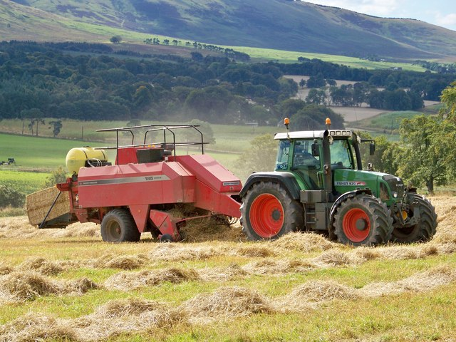 Baling Near Meadowflat