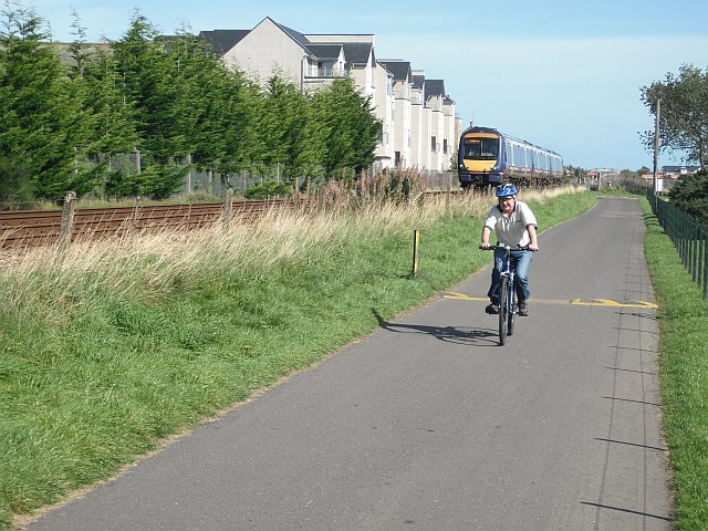 National Cycle Route 1 -  Carnoustie
