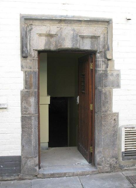 Mediaeval doorway, St. Mary's Chare