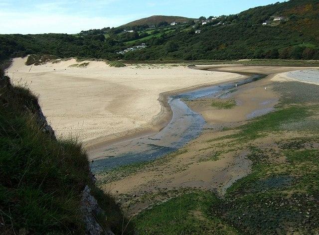 Pennard Pill, Three Cliffs Bay