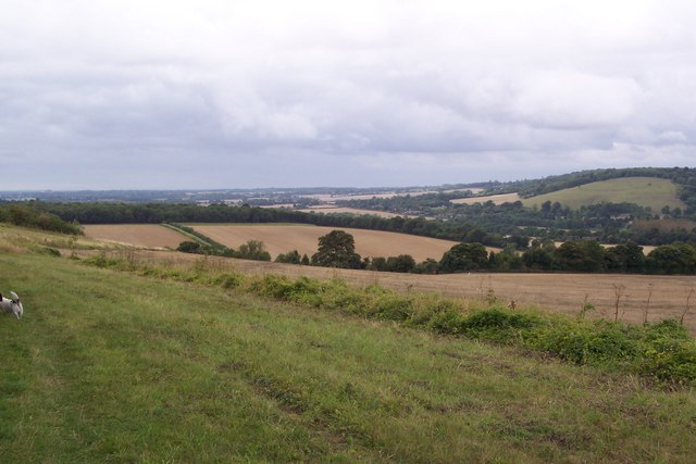 View towards Godermersham in the Stour Valley