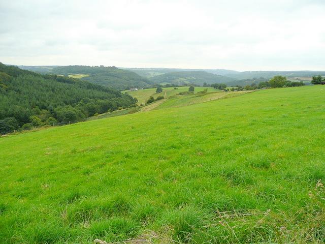 English-Welsh border