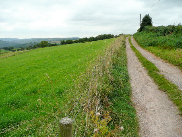 Track to Upper Beaulieu Farm