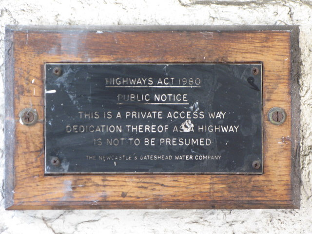 Notice in passage off St. Mary's Wynd