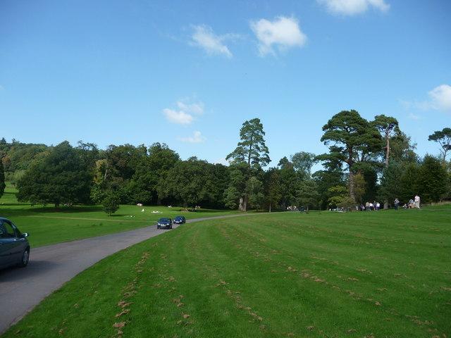 Mid Devon : Knightshayes Court, Driveway & Grass
