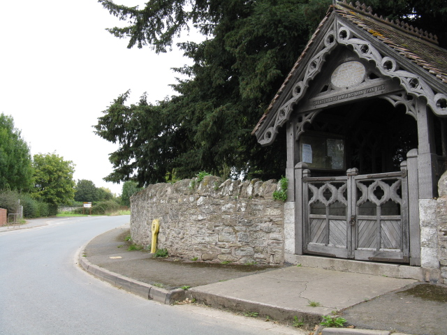 Ivington - Lych Gate & Lane