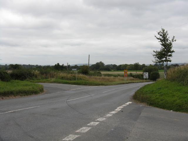 Crossroads Near Stretford Bridge