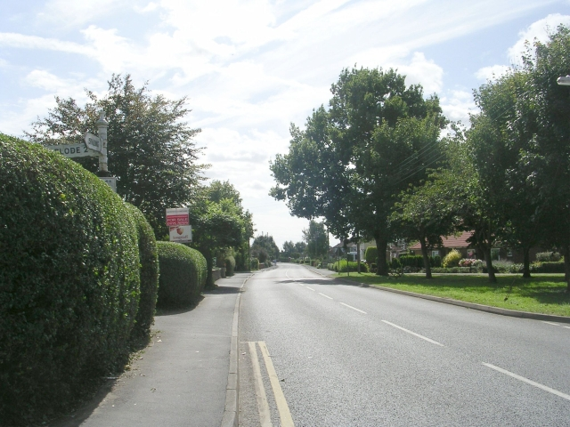 Station Road - viewed from High Street