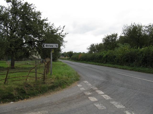 Birley Junction, A4110