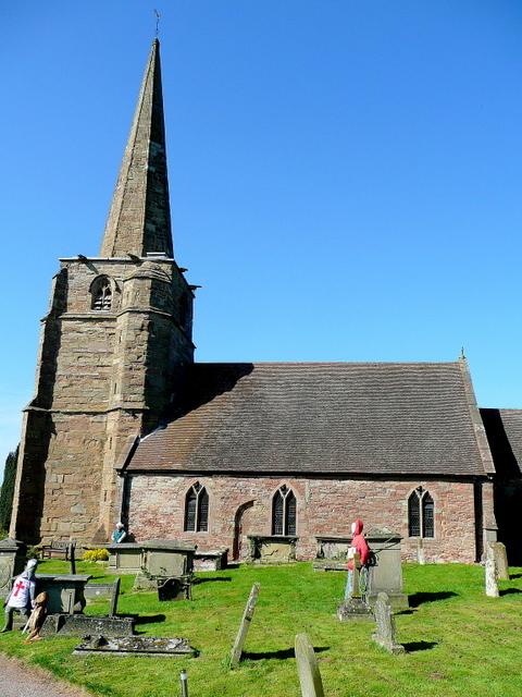 St. Mary's church, Linton