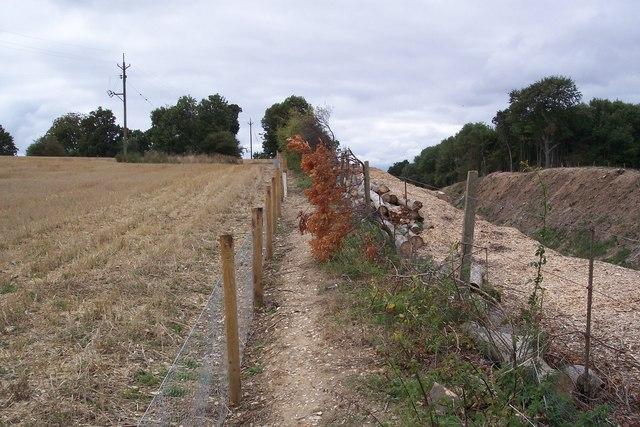 Footpath to Eggarton Lane
