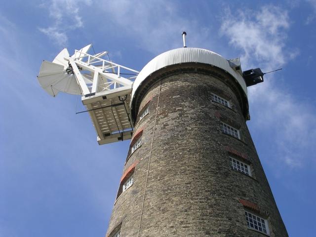 Fantail - Moulton Windmill