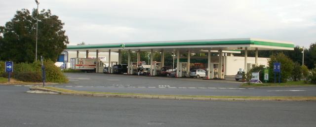Strensham Services southbound filling station