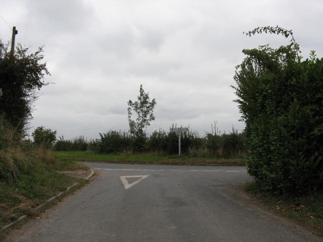 Lane Junction Near Park Gate