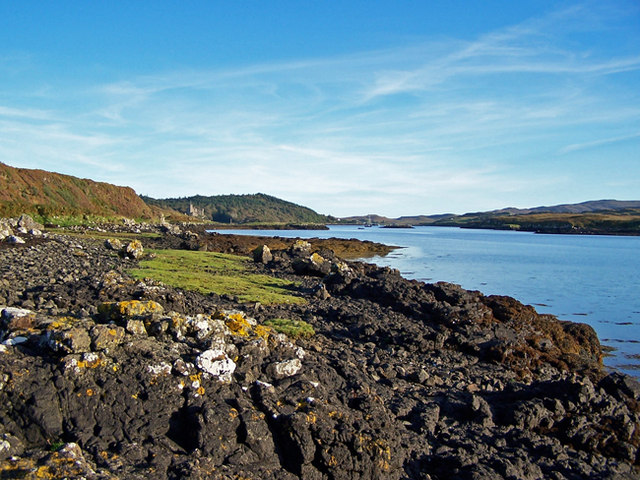 Shore of Loch Dunvegan