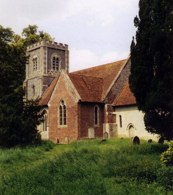 St Andrew, Hurstbourne Priors