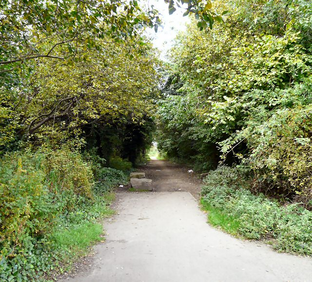 Footpath to Clayton