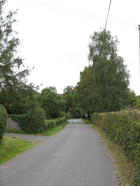 Lane In Upper Hill Village