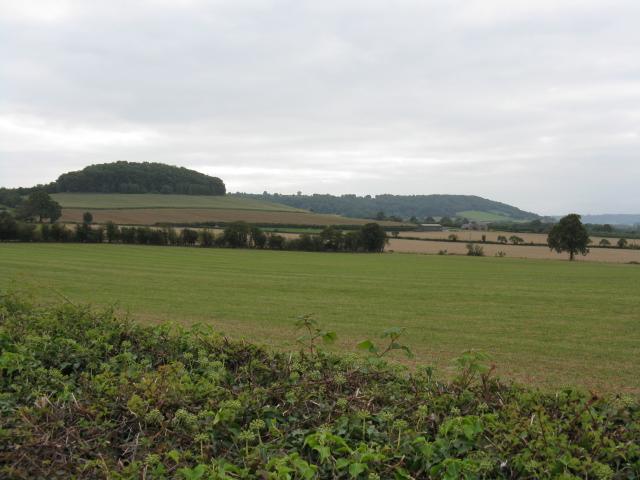 Hills Behind Gattertop Farm