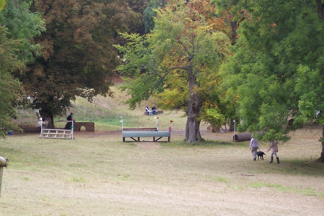 Horse Jumps in Chilham Park