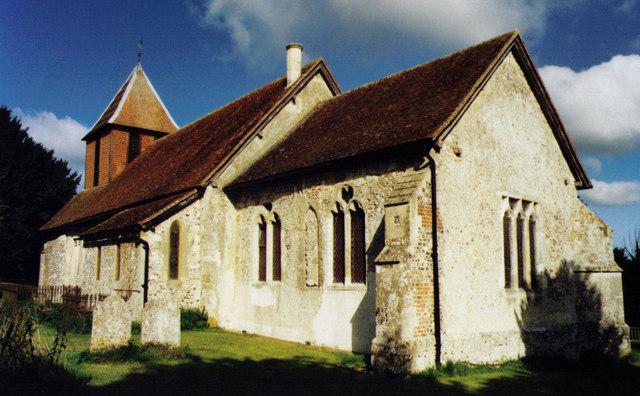 All Saints, Monk Sherborne