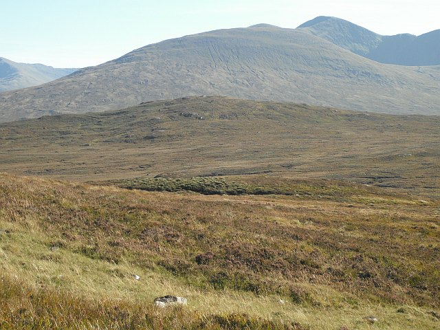 Behind  Meall a' Ghortain