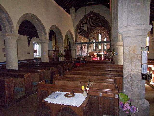 Interior of Holy Trinity Church, Barrow Upon Humber