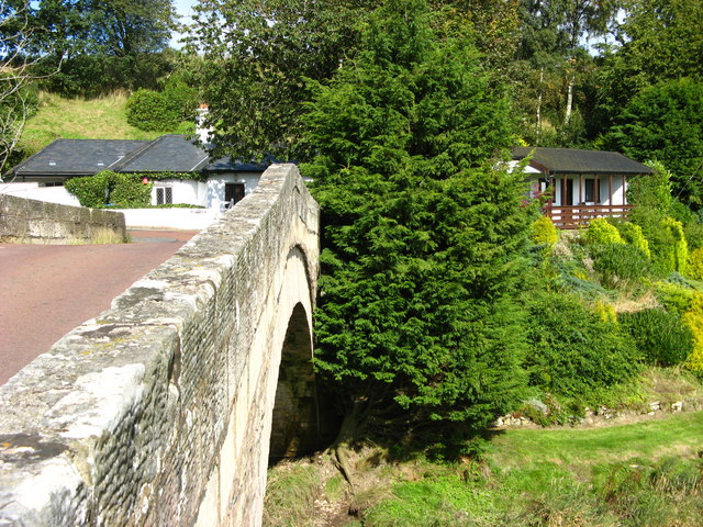 Bridge over the Douglas Water near Sandilands