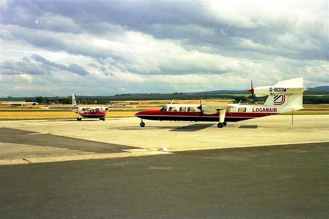 Inverness [Dalcross] Airport - 1974