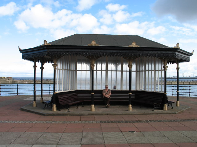 Victorian Seaside Shelter at New Brighton
