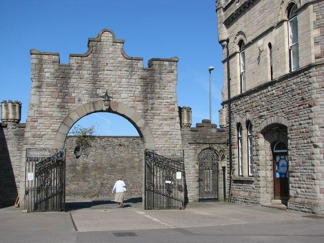 Gateway of St Vincent's Works