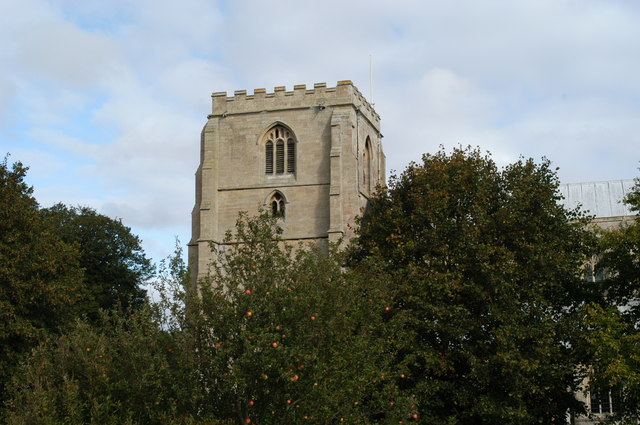 St Mary`s church tower