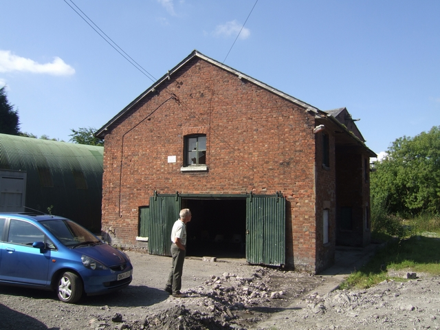 Duke of Sutherland's Warehouse at Wappenshall Wharf