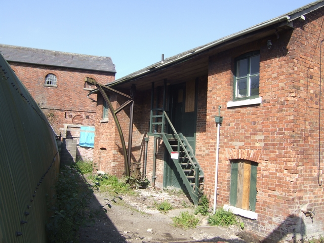 Rear of Duke of Sutherland's Warehouse - Wappenshall Wharf