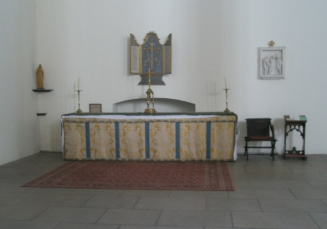 Altar in the north west corner of Holy Spirit, Southsea