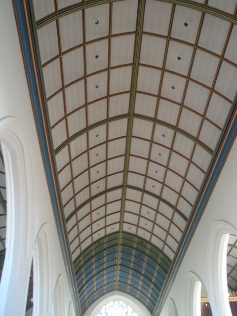 The ceiling at Holy Spirit, Southsea