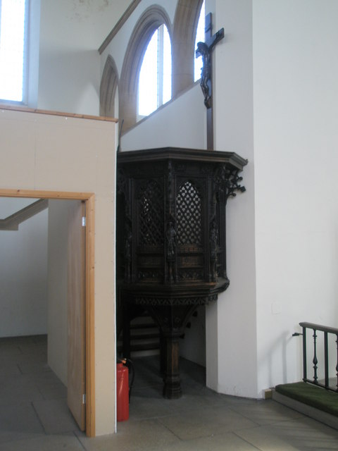 Pulpit I suspect is no longer used