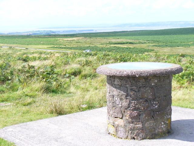 Viewpoint on Cefn Bryn
