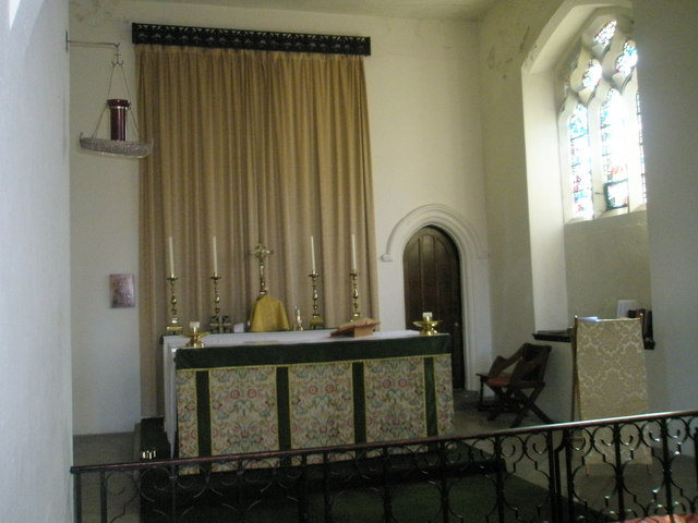 Side altar at Holy Spirit, Southsea