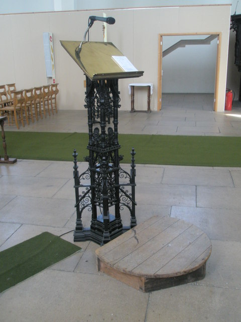The lectern at Holy Spirit, Southsea