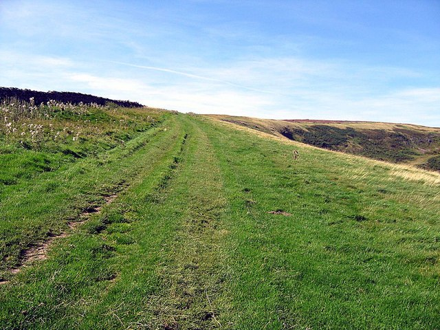 Track between Marske and Helwith