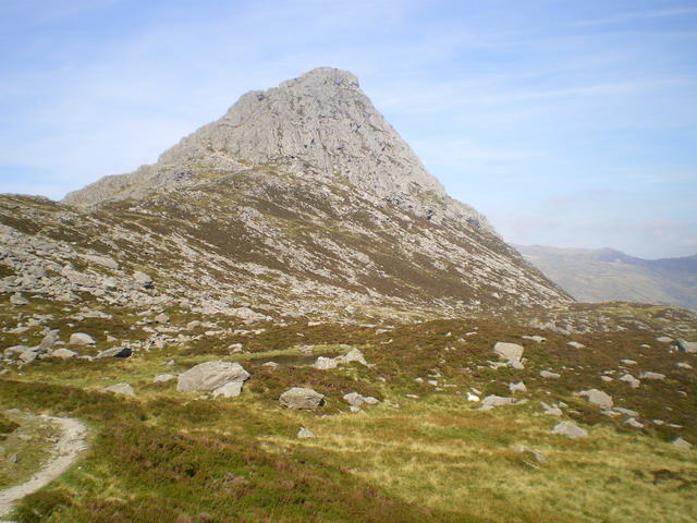 Upper Cwm Tryfan from the Miners' Track