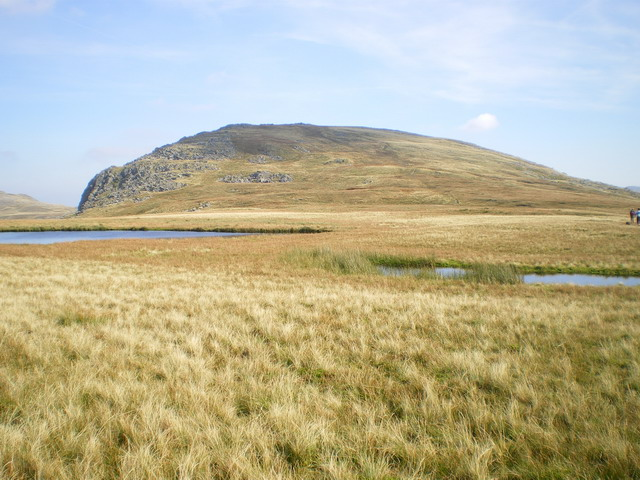 Unnamed pools below Y Foel Goch