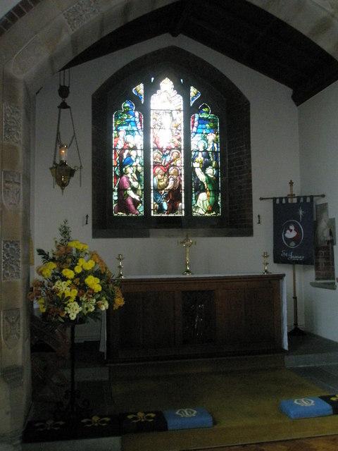 Side altar at St James, Milton