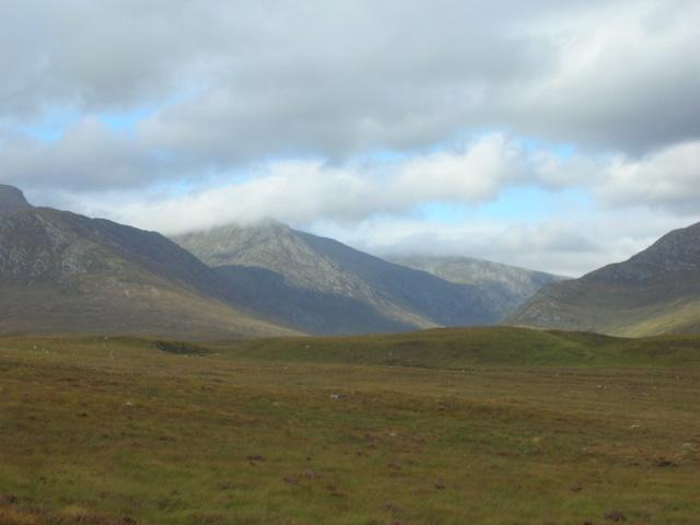 NW of Loch Glascarnoch
