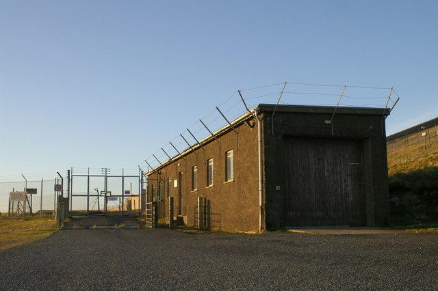 The former RAF Saxa Vord