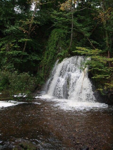 Upper Fall, Fairy Glen