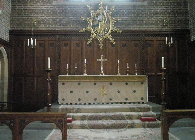 The main altar at St James, Milton